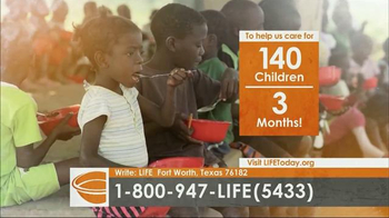 LIFE Outreach International TV Spot, 'Feed and Care for Hungry Children' - Thumbnail 3