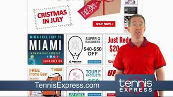 Tennis Express Prime Week Sale TV Spot, 'Christmas in July'