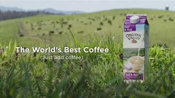 Organic Valley Half & Half TV Spot, 'DIY: World's Best Coffee' - Thumbnail 10