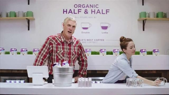 Organic Valley Half & Half TV Spot, 'DIY: World's Best Coffee' - Thumbnail 7