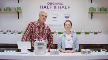 Organic Valley Half & Half TV Spot, 'DIY: World's Best Coffee' - Thumbnail 8