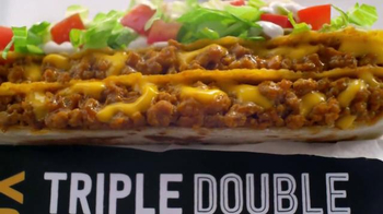 Taco Bell Triple Double Crunchwrap $5 Box TV Spot, 'No Sides' - Thumbnail 3