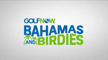 GolfNow Bahamas and Birdies With Justin Rose Sweepstakes TV Spot, 'Tee Up'