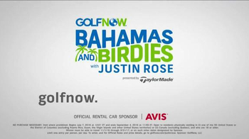 GolfNow Bahamas and Birdies With Justin Rose Sweepstakes TV Spot, 'Tee Up' - Thumbnail 8