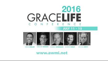 AWMI TV Spot, '2016 Grace Life Conference' - Thumbnail 6
