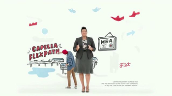 Capella University FlexPath TV Spot, 'MBA Program That Won't Slow You Down' - Thumbnail 3