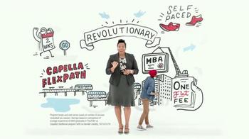Capella University FlexPath TV Spot, 'MBA Program That Won't Slow You Down'