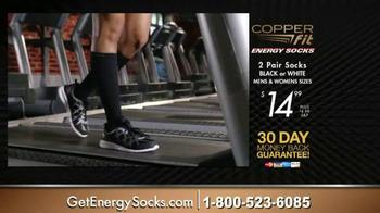 Copper Fit Energy Socks TV Spot, 'Feel Better' - Thumbnail 4