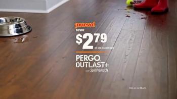 The Home Depot Pergo Outlast+ TV Spot, 'Gran Danés' [Spanish] - Thumbnail 10