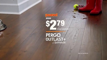 The Home Depot Pergo Outlast+ TV Spot, 'Gran Danés' [Spanish] - Thumbnail 9