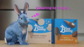 Blue Bunny Ice Cream TV Spot, 'TV One: Treat Yourself' - Thumbnail 4