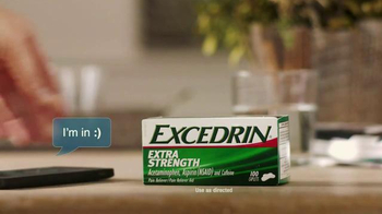 Excedrin TV Spot, 'Big Night' - Thumbnail 4