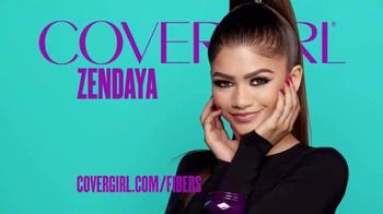 CoverGirl Super Sizer Fibers Mascara TV Spot, 'Más' con Zendaya [Spanish] - Thumbnail 9