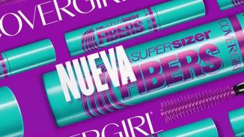 CoverGirl Super Sizer Fibers Mascara TV Spot, 'Más' con Zendaya [Spanish] - Thumbnail 2