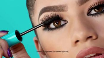CoverGirl Super Sizer Fibers Mascara TV Spot, 'Más' con Zendaya [Spanish] - Thumbnail 3