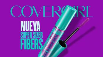 CoverGirl Super Sizer Fibers Mascara TV Spot, 'Más' con Zendaya [Spanish] - Thumbnail 7