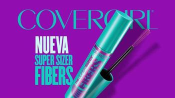 CoverGirl Super Sizer Fibers Mascara TV Spot, 'Más' con Zendaya [Spanish] - Thumbnail 8