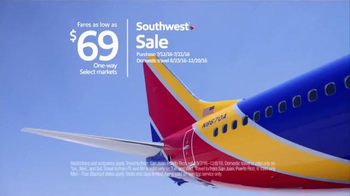 Southwest Airlines Summer Sale TV Spot, 'Fire Up Your Engines' - Thumbnail 6