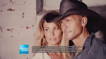 American Express Concert Series TV Spot, 'Tim McGraw and Faith Hill' - Thumbnail 5