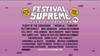 2016 Festival Supreme TV Spot, 'It's Gonna Blow Your Minds' - Thumbnail 8