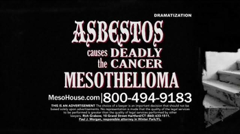 Sokolove Law TV Spot, 'The House Asbestos Built'