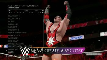 WWE 2K17 TV Spot, 'Ultra-Authentic WWE Action' Song by Skillet