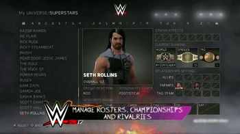 WWE 2K17 TV Spot, 'Ultra-Authentic WWE Action' Song by Skillet - Thumbnail 7