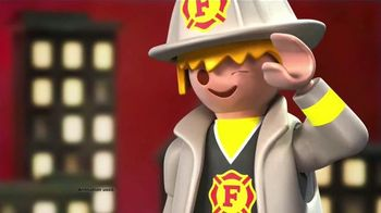 Playmobil City Action & City Life TV Spot, 'Fire Rescue and School Day' - 683 commercial airings