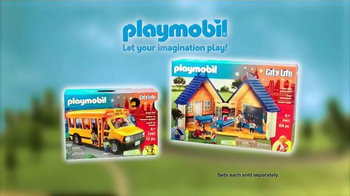 Playmobil City Action & City Life TV Spot, 'Fire Rescue and School Day' - Thumbnail 6