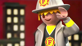 Playmobil City Action & City Life TV Spot, 'Fire Rescue and School Day'