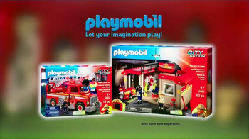 Playmobil City Action & City Life TV Spot, 'Fire Rescue and School Day' - Thumbnail 3