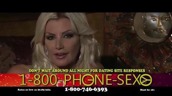1-800-PHONE-SEXY TV Spot, 'It's Late' - Thumbnail 4