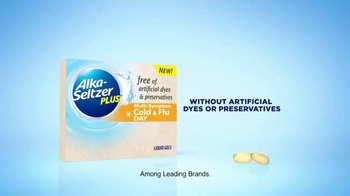 Alka-Seltzer Plus Liquid Gels TV Spot, 'Mountain of Medicine' - Thumbnail 5
