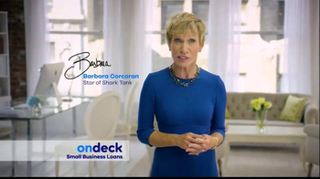 OnDeck TV Spot, 'Need Capital' Featuring Barbara Corcoran