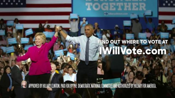Hillary for America TV Spot, 'Show Up' - Thumbnail 10