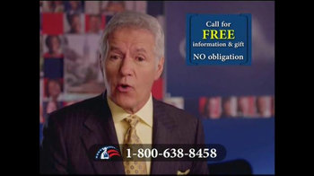 Colonial Penn TV Spot, 'Locked in for Life' Featuring Alex Trebek - Thumbnail 4