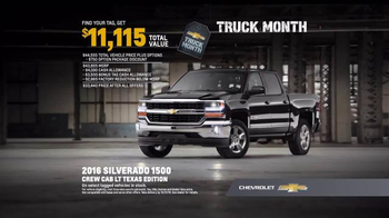 Chevrolet Truck Month TV Spot, 'Texas Edition' - 651 commercial airings