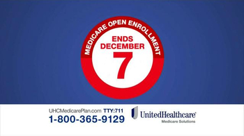 UnitedHealthcare Medicare Advantage Plan TV Spot, 'Open Enrollment' - Thumbnail 4
