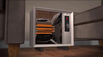 Handy Heater TV Spot, 'Stay Warm and Cozy' - Thumbnail 4