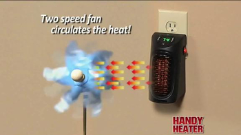 Handy Heater TV Spot, 'Stay Warm and Cozy' - Thumbnail 5