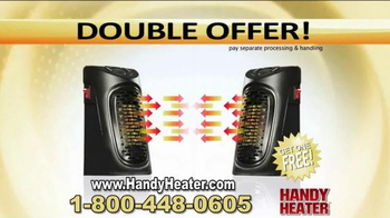 Handy Heater TV Spot, 'Stay Warm and Cozy' - Thumbnail 8