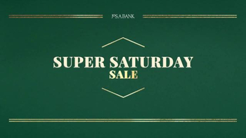 JoS. A. Bank Super Saturday Sale TV Spot, 'Suits, Dress Pants and Sweaters'