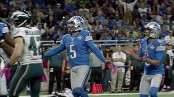 Bridgestone TV Spot, 'Performance Moment: Eagles vs. Lions' - Thumbnail 4