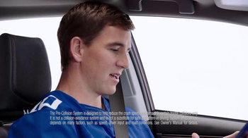 2017 Toyota Corolla TV Spot, 'How to With Eli Manning: Safety Sense' - Thumbnail 6