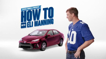 2017 Toyota Corolla TV Spot, 'How to With Eli Manning: Safety Sense' - Thumbnail 7