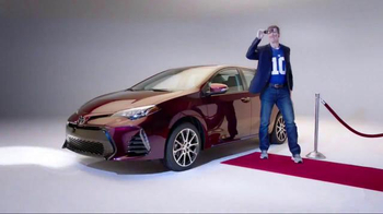 2017 Toyota Corolla TV Spot, 'How to With Eli Manning: Dramatic New Look' - 1 commercial airings