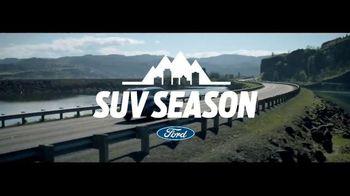 Ford SUV Season TV Spot, 'Award-Winning Lineup' - 13 commercial airings