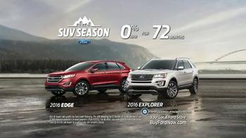 Ford SUV Season TV Spot, 'Award-Winning Lineup' - Thumbnail 5