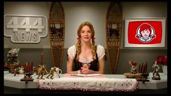 Wendy's Swiss Jr. Bacon Cheeseburger TV Spot, 'News Alert'
