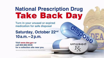 DEA Prescription Drug Take Back Day TV Spot, 'October' Ft. Boomer Esiason - Thumbnail 3